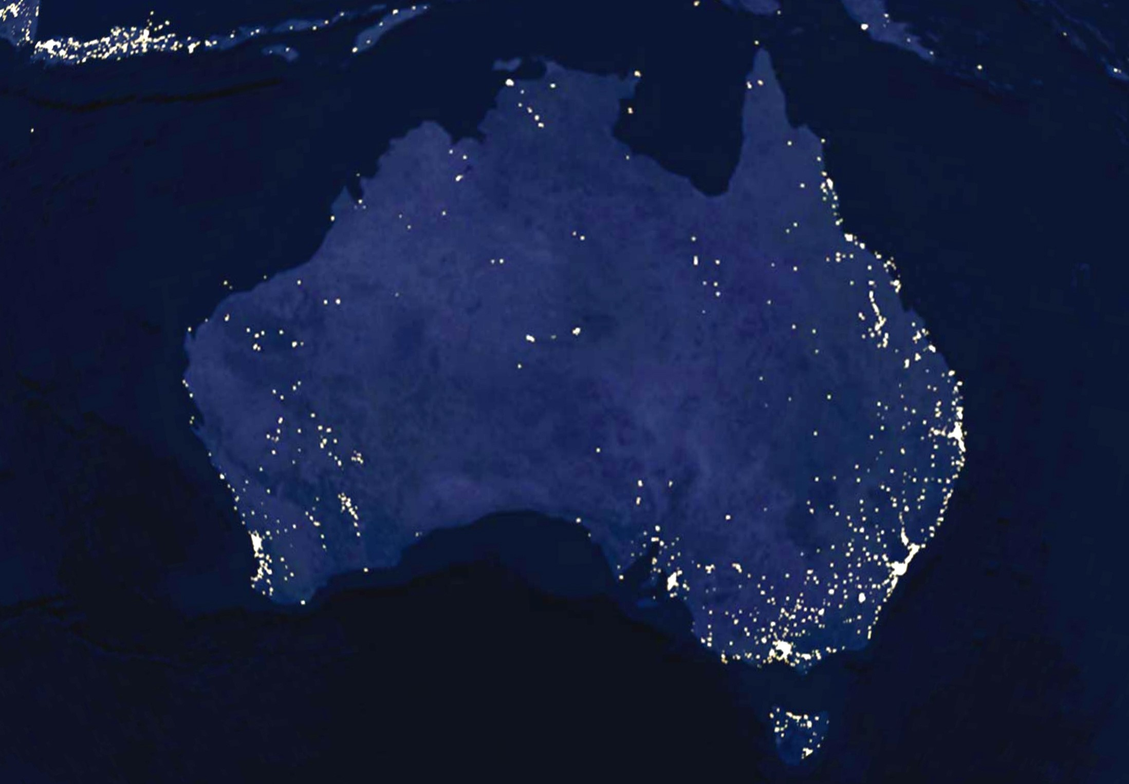 Australia-from-space